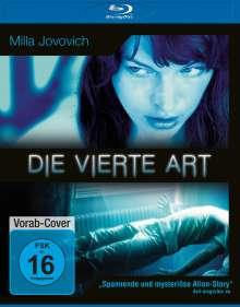 Die vierte Art (Blu-ray), Blu-ray Disc