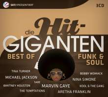 Die Hit-Giganten: Best Of Funk & Soul, 3 CDs