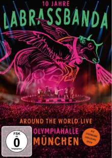 LaBrassBanda: Around The World (Live), 2 DVDs