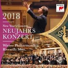 Neujahrskonzert 2018 der Wiener Philharmoniker, 3 LPs