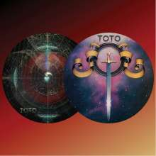 Toto: Hold The Line / Alone (Picture Disc), Single 10""
