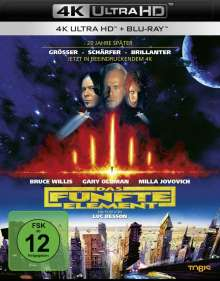 Das fünfte Element (Ultra HD Blu-ray & Blu-ray), Ultra HD Blu-ray