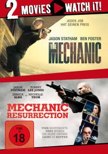 The Mechanic / Mechanic: Resurrection, 2 DVDs