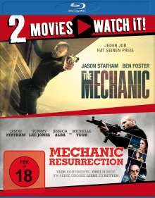 The Mechanic / Mechanic: Resurrection (Blu-ray), 2 Blu-ray Discs