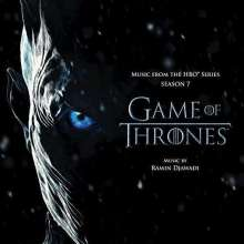 Filmmusik: Game Of Thrones (Music from the HBO® Series - Season 7) (180g) (Multi-Colored Vinyl), 2 LPs