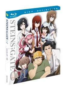 Steins;Gate Vol. 1 (Blu-ray), Blu-ray Disc