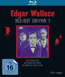 Edgar Wallace Edition 3 (Blu-ray), 3 Blu-ray Discs