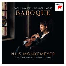 Nils Mönkemeyer - Baroque, CD