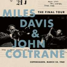 Miles Davis & John Coltrane: The Final Tour: Copenhagen, March 24,1960, LP