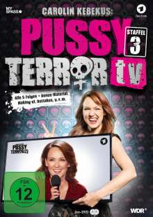 Carolin Kebekus: Pussy Terror TV Staffel 3, 2 DVDs