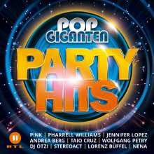 Pop Giganten Party Hits, 2 CDs