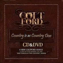 Colt Ford: Country Is As.. (CD + DVD), 2 CDs