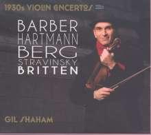 Gil Shaham - 1930s Violin Concertos Vol.1, 2 CDs