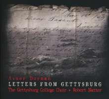 Avner Dorman (geb. 1975): Letters from Gettysburg für Sopran, Bariton, gemischten Chor & Percussion, CD