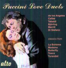Puccini Love Duets, CD