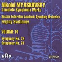 Nikolai Miaskowsky (1881-1950): Symphonie Nr.24, CD