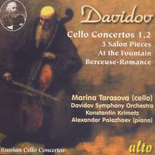 Carl Davidoff (1838-1889): Cellokonzerte Nr.1 & 2, CD