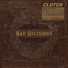 Clutch: Book Of Bad Decisions (Limited-Book-Edition), CD