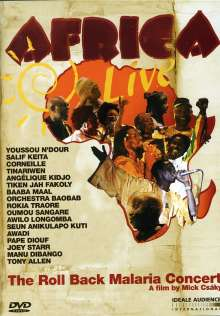 Africa Live - The Roll Back Malaria Concert, DVD