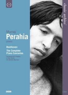 Murray Perahia  - Ludwig van Beethoven, 2 DVDs