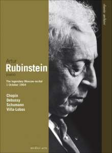 Artur Rubinstein - The Legendary Moscow Recital 1964, DVD