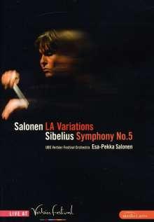 Jean Sibelius (1865-1957): Symphonie Nr.5, DVD