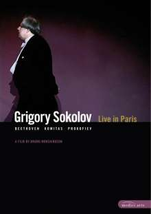 Grigory Sokolov - Live in Paris 2002, DVD