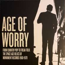 Age Of Worry (remastered) (Limited Edition), LP