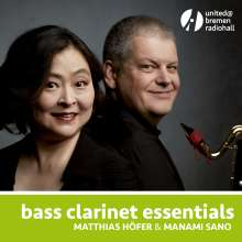 Matthias Höfer & Manami Sano - Bass Clarinet Essentials, CD