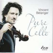 Vincent Belanger - Pure Cello, CD