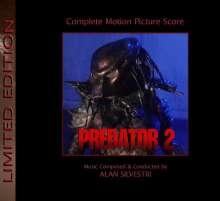 Alan Silvestri (geb. 1950): Filmmusik: Predator 2 (Limited-Edition), 2 CDs