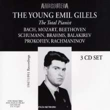 Emil Gilels - The Young Emil Gilels, 3 CDs
