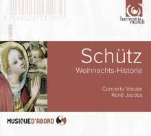 Heinrich Schütz (1585-1672): Historia der Geburt Christi SWV 435, CD