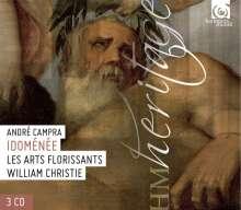 Andre Campra (1660-1744): Idomenee, 3 CDs