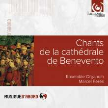 Chants de la Cathedrale de Benevento, CD