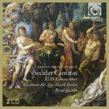 Johann Sebastian Bach (1685-1750): Kantaten BWV 201,205,213, 2 CDs