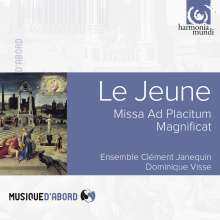 Claude Le Jeune (1528-1600): Missa ad placitum, CD