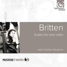 Benjamin Britten (1913-1976): Suiten für Cello solo Nr.1-3 (opp.72,80,87), CD