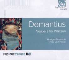 Christoph Demantius (1567-1643): Vepres de Pentecoste, CD