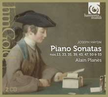 Joseph Haydn (1732-1809): Klaviersonaten H16 Nr.6,20,24,28,32,34,37,43,51, 2 CDs