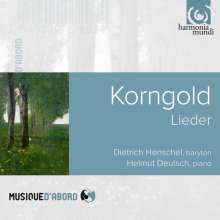 Erich Wolfgang Korngold (1897-1957): Lieder, CD