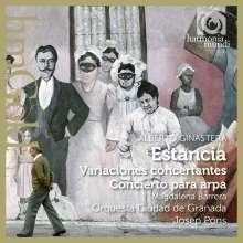 Alberto Ginastera (1916-1983): Estancia-Ballettsuite op.8a, CD