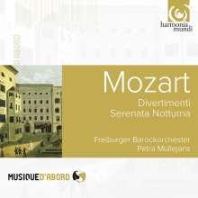 Wolfgang Amadeus Mozart (1756-1791): Divertimenti KV 136-138, CD