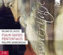 """Orlando di Lasso (Lassus) (1532-1594): Psalmi penitentialis Nr.1-7 """"Bußpsalmen"""", 2 CDs"""