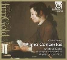 Joseph Haydn (1732-1809): Klavierkonzerte H18 Nr.4,6,11, CD