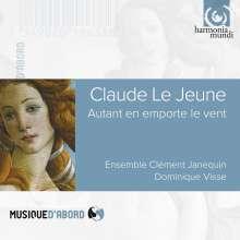 """Claude Le Jeune (1528-1600): Chansons """"Autant en emporte le vent"""", CD"""