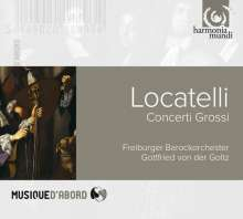 Pietro Locatelli (1695-1764): Concerti grossi op.1 Nr.2,4,7-9,11, CD