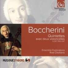 Luigi Boccherini (1743-1805): Streichquintette G.287,318,347, CD