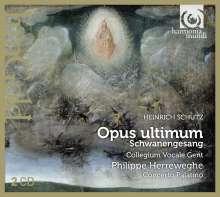 Heinrich Schütz (1585-1672): Schwanengesang SWV 482-494, 2 CDs