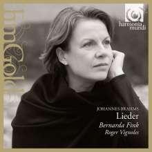 Johannes Brahms (1833-1897): Lieder, CD